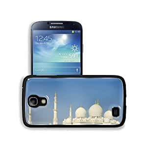 Architecture Buildings White Islam Mosques Samsung Galaxy S4 Snap Cover Aluminium Design Back Plate Case Customized Made to Order Support Ready 5 3/16 inch (132mm) x 2 13/16 inch (71mm) x 4/8 inch (12mm) MSD Galaxy_S4 Professional Metal Cases Touch Access