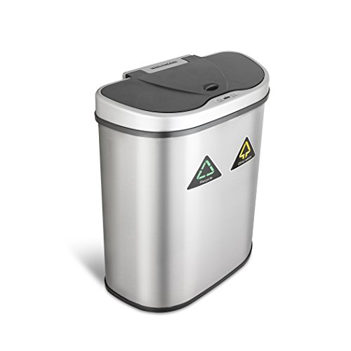 Recycler Touchless Automatic Stainless 18 5 Gallon product image