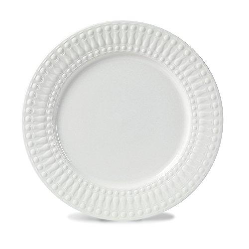 Pfaltzgraff Cassandra Salad Plate, 7-1/2-Inch, White