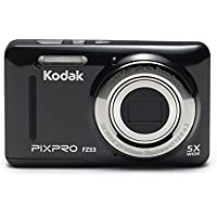 Kodak PIXPRO Friendly Zoom FZ53 16 MP Digital Camera with 5X Optical Zoom and 2.7' LCD Screen (Black)
