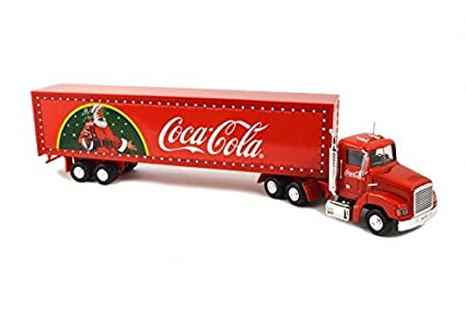 Amazon.com: Coca Cola New LED Light-Up Christmas Truck (Red) by Coca ...