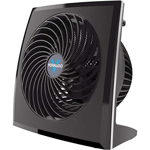 Vornado Air Circulator Mechanical Controls, Whole Room Moves Air Over 60 Ft. 3 Speed Black