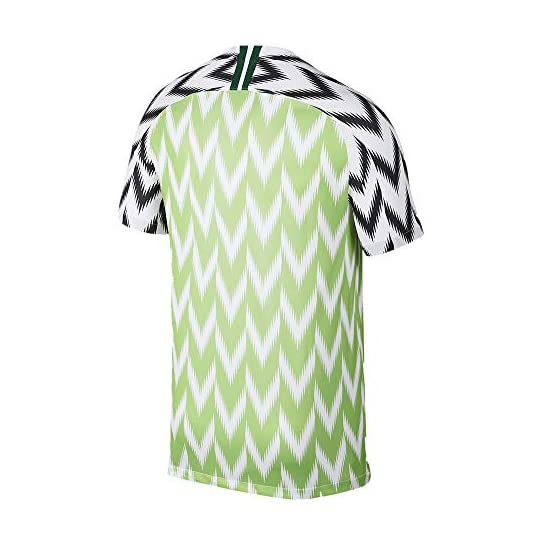 Maillot de Football du Stade du Nigeria 2019 Soccer Home Maillot Short Sleeves