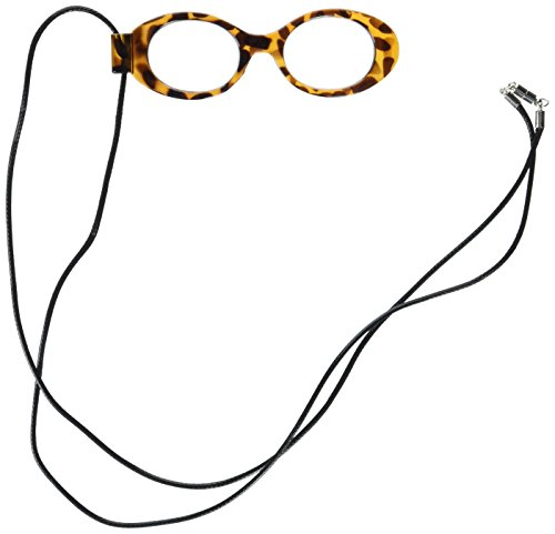 Price comparison product image Optimum Optical Opti Spex Magnifier Necklace, Amber Ambre, One Size