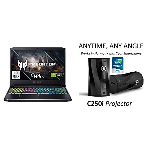 Acer Predator Helios 300 Gaming Laptop with C250i Anytime ...