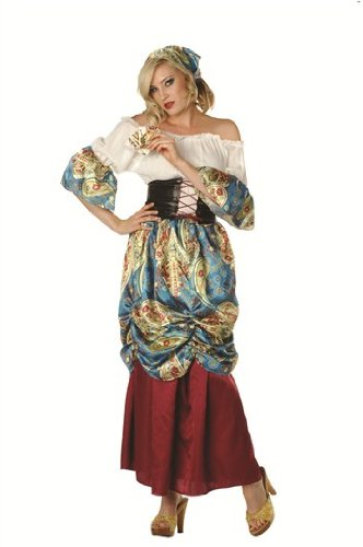 [Esmeralda Gypsy Adult Costume Size Medium (6-8)] (Gypsy Clothing Costume)