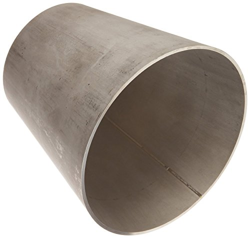 DixonB31W-G600400U Stainless Steel 304 Sanitary Fitting, Unpolished Weld Concentric Reducer, 6'' Tube OD x 4'' Tube OD by Dixon Valve & Coupling (Image #2)