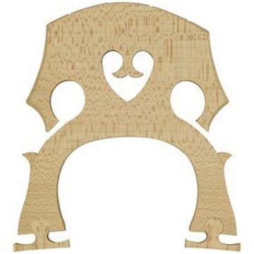 Carlo Robelli Adjustable Euro Style Cello Bridge (Low)