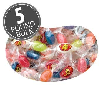 Jelly Belly 20 Flavor Jelly Beans Mix - 5 Pounds of Bulk, Loose, Individually Wrapped Candy - Genuine, Official, Straight from the Source