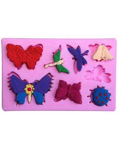 Inglés alfabeto letra mayúscula dulces pastel de choclate pastel de molde de la decoración del molde