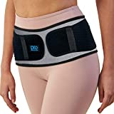 Sacroiliac Hip Belt for Women and Men That Alleviate Sciatic, Pelvic, Lower Back and Leg Pain, Reduce Inflammation by Stabilizing SI Joint. Diamond Shaped Pressure Provides Compression and Stability