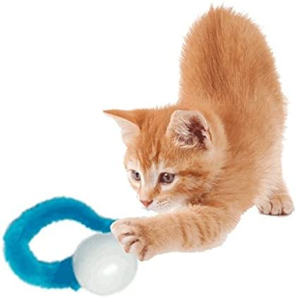 Dezi & Roo Wiggly Ball Sampler Set of Three Amazing Cat Toy Balls - Ping, Pong, and Ball 6