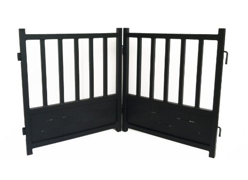 Royal Weave Free-Standing Dog Gate - DG3S - Black