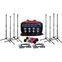 VocoPro UHF8800XL 8 Channel Uhf Wireless Mic Satellite Radio