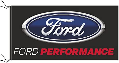 Amazon com : FORD PERFORMANCE FLAG BLACK : Garden & Outdoor