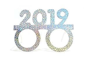2019 Glasses Mask Glitter