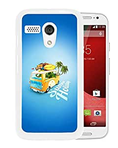 Summer Holiday For Moto G Case White Case Cover