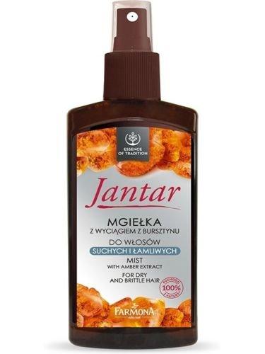 farmona jantar Spray Conditioner con ámbar complejo vitaminas, cabello seco 200 ml: Amazon.es: Belleza
