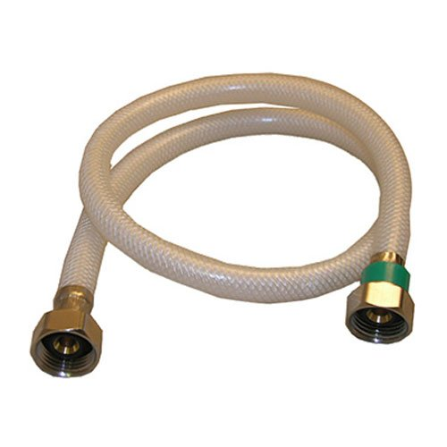 (LASCO 10-2431 1/2-Inch Female Iron Pipe by 1/2-Inch Female Iron Pipe by 30-Inch Flex Braided Vinyl Water Supply)