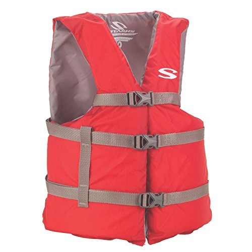 Stearns Adult Classic Series Vest,  3000001412, Red, Universal