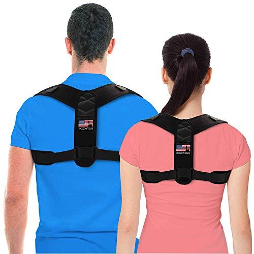 Best Back Posture Corrector For Men And Women -Adjustable Back Straightener- Upper Back Brace For Clavicle Support And Protecting Pain From Neck, Back & Shoulder-Posture Brace Provide Back Support