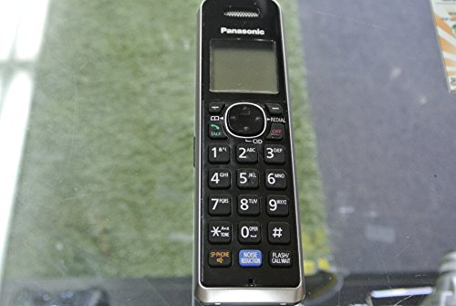 Panasonic Black & Silver KX-TGA680 Handset Compatible with KX-TG684X and KX-TG787X Series.