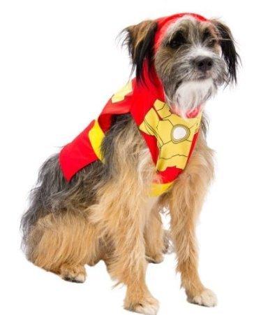 Marvel Comics Iron Man 3 Dog Costume LARGE ()