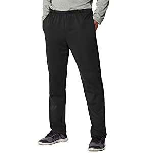 Hanes Men's Sport Performance Sweatpant with Pockets, Black, XL