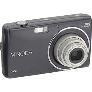 Minolta(r) Mn5z-Bk 20.0-Megapixel Mn5z Hd Digital Camera With 5x Zoom (black) by MINOLTA