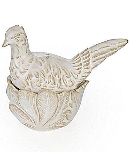 Noble Excellence Harvest Paisley Pheasant Salt & Pepper Set (Pheasant And Shakers Pepper Salt)