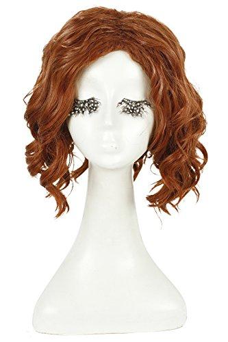 Dark Ages Adult Wig (Nuoqi Womens Sexy Black Widow Dark Brown Cosplay Wig ML80)