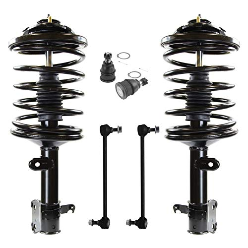 - Detroit Axle - 6PC Front Strut and Coil Spring Assembly w/Sway Bar Links and Lower Ball Joints for 2003 2004 2005 2006 2007 2008 Honda Pilot - [2001-2002 Acura MDX]