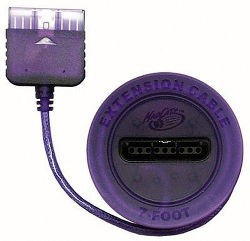 1x New 7 FT Controller Extension Cable for Playstation 2 PS2 PS ONE - Purple