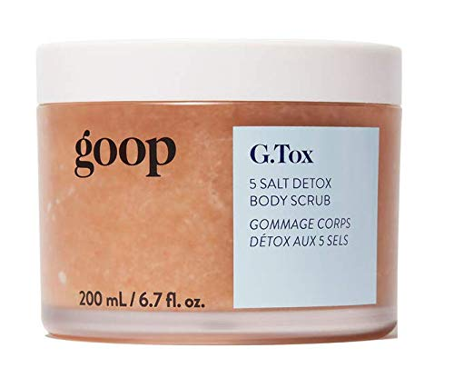 Goop G.TOX 5 SALT DETOX BODY SCRUB 6.7 oz / 200 ml