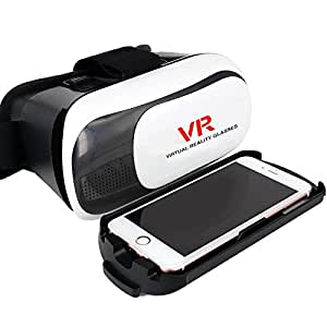 """Genérico Vr de realidad virtual Gafas de vídeo para biberón """"3. 5-6""""Android, Win, smartphones IOS"""