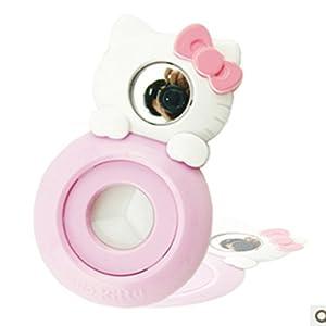CLOVER Close Up Lens White KT Cat Self-portrait Mirror For Fujifilm Instax Mini 7s 8 Camera -- White