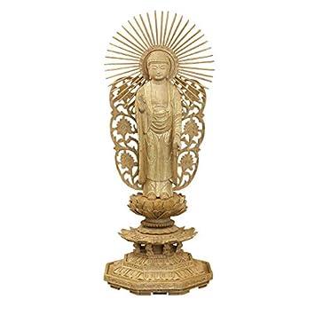 Amazon|京仏壇はやし 仏像 総香...