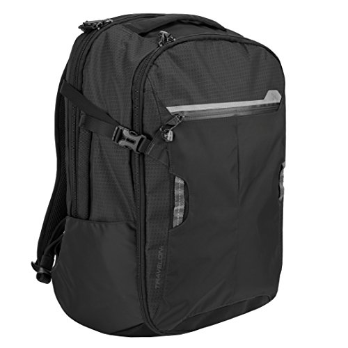 Travelon Anti-Theft Active Backpack Carry-on, Black