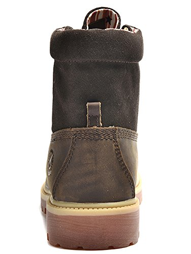 Insun , Herren Stiefel Crazy Horse Leather Brown