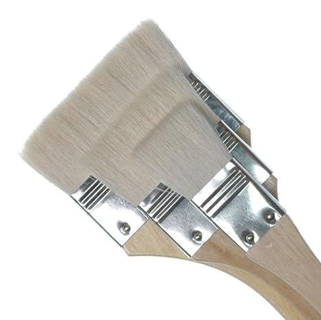 Royal /& Langnickel RART-115 Breites Flachpinsel Set Drei verschiedene Gr/ö/ßen der orientalischen Hake Pinsel