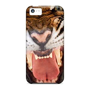 Hot Snap-on Tiger Hard Cover Case/ Protective Case For Iphone 5c