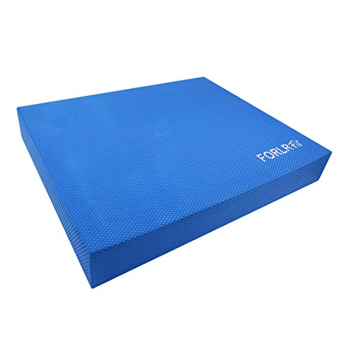 FORLRFIT Balance Pad for Physical Therapy,Non-Slip Foam Balance Cushion for Yoga,Fitness Training, Core Balance,Strength & Stability- Standing Mat,Knee Pad &Foam - Therapy Pad