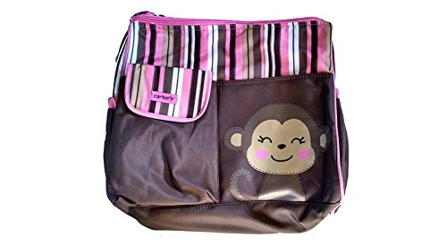 Carters Diaper Bag Monkey Stripe