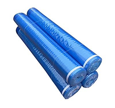 3in1 Underlayment Foam with Self-Sealing Lip and Tape - Laminate,Vinyl,WPC,Bamboo,Engineered Floor(3mm 400 sqft)