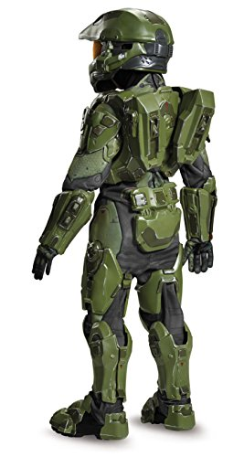 41Ns Ct3COL - Master Chief Ultra Prestige Halo Microsoft Costume, Large/10-12