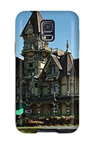 CRYSTAL TYLER Bowyer's Shop Awesome Defender Tpu Hard Case Cover For Galaxy S5- Architecture Houses