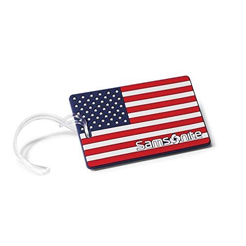 - Samsonite Designer Luggage Id Tags, American Flag