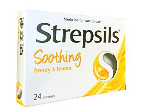(Strepsils Honey and Lemon Lozenges - 24- Pack)
