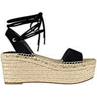 GUESS Women's Ronisa Espadrille Wedges