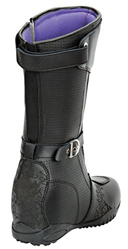 Joe Rocket Heartbreaker Women's Boots (Black, Size 9)